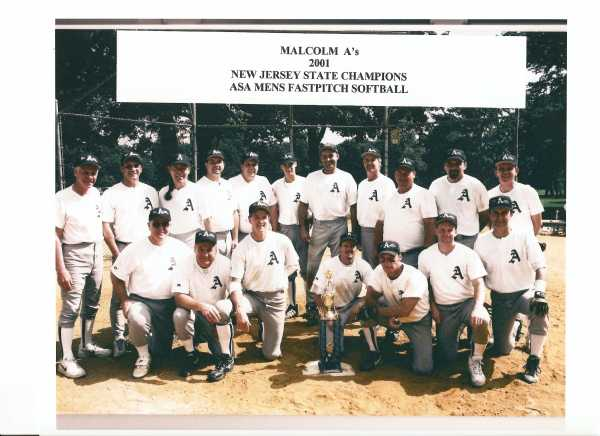 2001 NJ State ASA Class B Champs