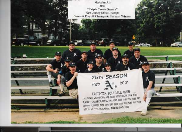 2001 Pennant & Playoff Champs