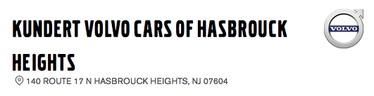 KUNDERT VOLVO CARS OF HASBROUCK HEIGHTS
