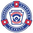 Little League Courage Character Loyalty Logo