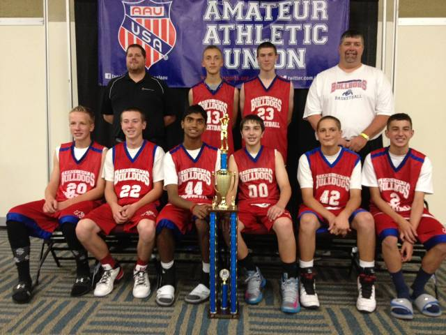 2013 Bulldogs 8 Red, Reno Mem Tourney Champs