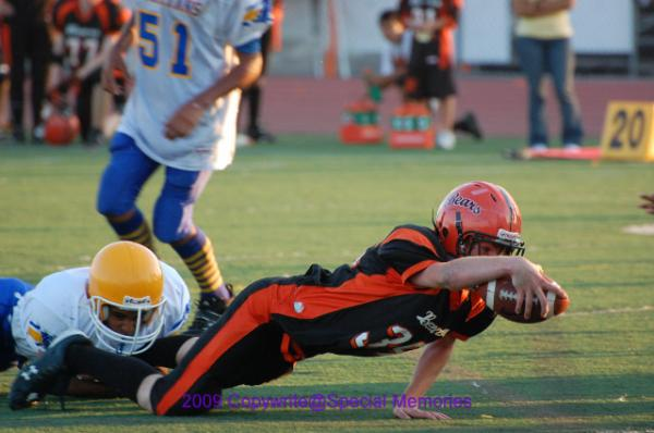 <Font Color=Blue><B>2009 Away Game against the San Ramon Bears</Font></B>