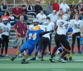 <Font Color=Blue><B>2009 Homecoming Game against Vacaville</Font></B>