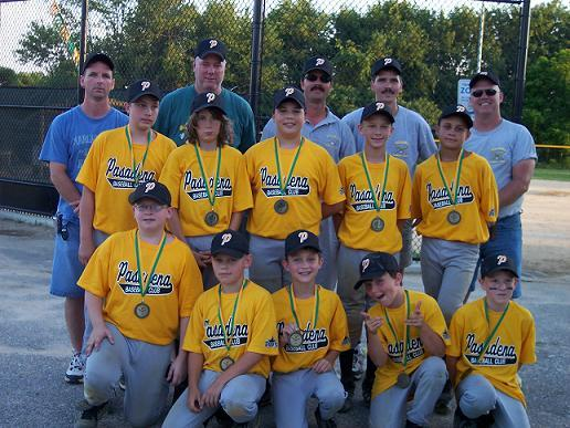"2005.  The 12U ""B"" Tournament Team took second place in the LF 12U ""B"" Tournament."