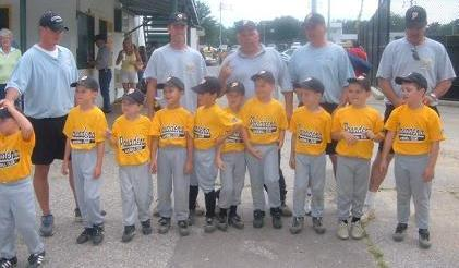 2005.  The JCP Tournament Team won the LF 6U Coach Pitch Tournament.