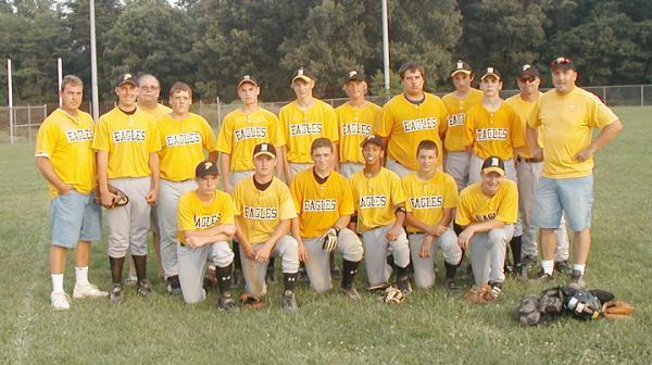 "2006.  The Eagles' 16 year old ""B"" Travel Team won the AAABA Joe E. Brown Championship."