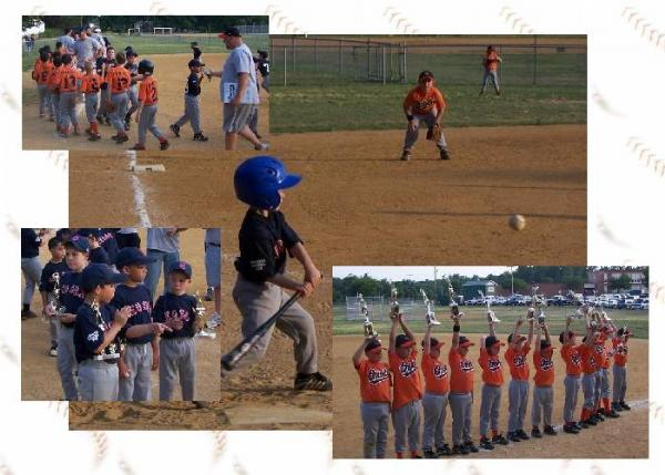 2006.  8U Championship Game between the Red Sox and Orioles.