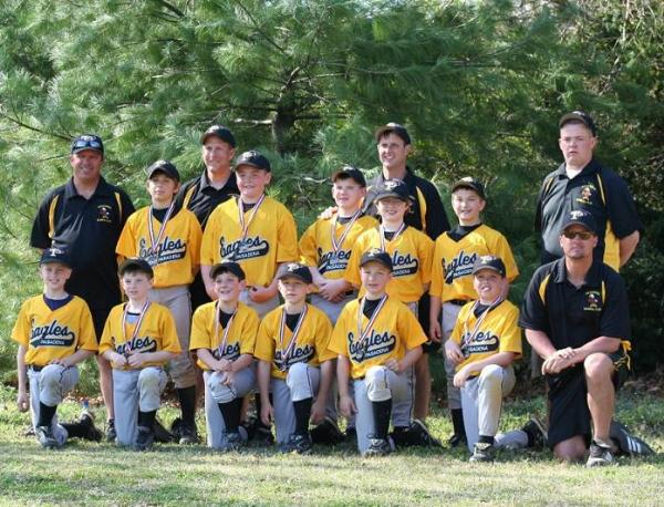 2007.  The Travel 10 year olds won their Baltimore Metro Baseball regular season, and the Launching the Dreams tournament.