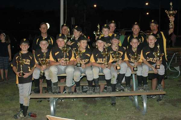 2008.  The Pasadena Eagles 11U Travel Team won the Maryland State Championship tournament at Lake Shore over the Memorial Day holiday, going a perfect 5-0.