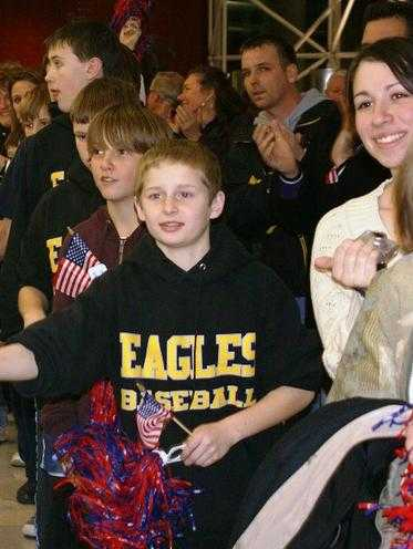 "2008.  The 13U Eagles travel team participated in ""Operation Welcome Home"" at BWI-Marshall airport, greeting returning soldiers, airmen, sailors and marines from the Global War on Terror.  More information about Operation Welcome Home is at www.operationwelcomehomemd.org."