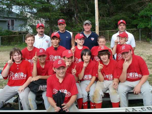 2009. The Elvaton Phillies won the 12 & Under PBC World Series.  The Phillies went undefeated during a regular season division composed of both Pasadena and Elvaton teams, and then rebounded from a playoff game loss with a win in the Championship game.