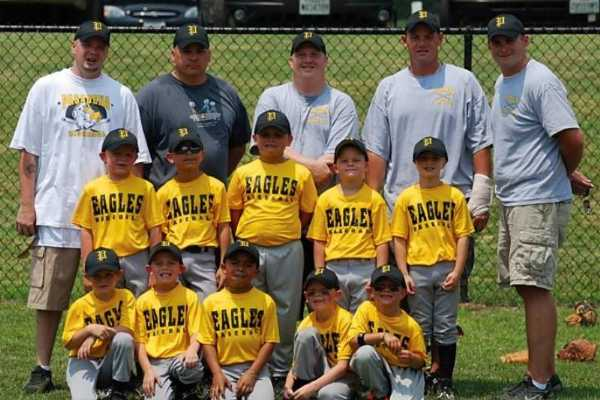 2011.  The 6U All-stars celebrate after their 2nd place finish at the LFYAA tournament.
