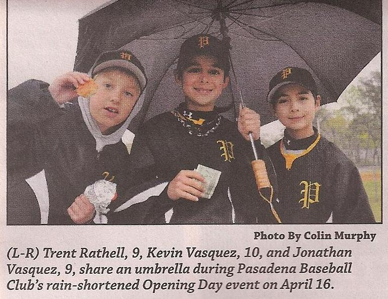 2011. Opening Day. Photo by Colin Murphy, Pasadena Voice.