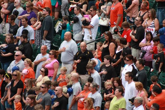 2011. Oriole Day at Camden Yards.