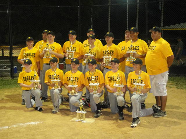 2012. The 12U Allstars made it to the Championship Game at Linthicum-Ferndale, but lost to HCYP in a close game.