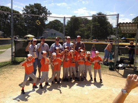2012.  The 8U Orioles won the World Series.
