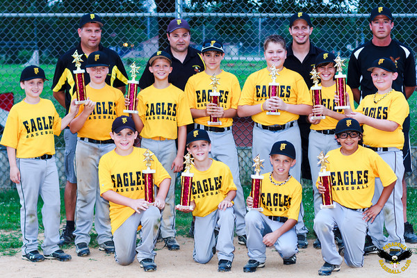 2013.  The Travel 10 year olds played in the Mid-Atlantic Baseball Association and finished in 2nd in both the regular season and post-season tournament, with an overall record of 21-6.