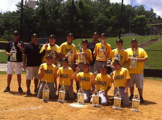 "2013. The Travel 14U ""A"" team won the Anne Arundel County 14U league, and the LFYAA 14U Tournament."