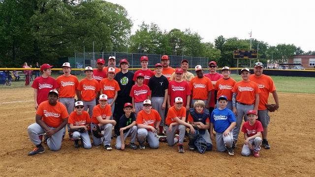 2014. Remember the old sandlot days of pickup baseball?  The 12U division held an impromptu practice made up of players from each of the three teams.