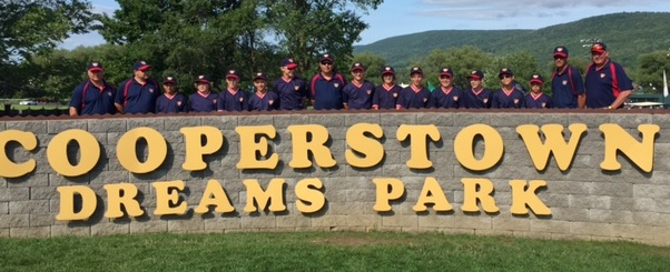 2015.  An annual tradition, Dan Summers' 12U Eagles competed in Cooperstown, NY.
