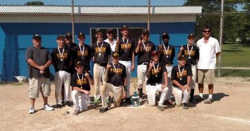 2015.  Our Travel 15 year olds, managed by Don Sacha, won the Fruitland End of Summer Bash tournament.