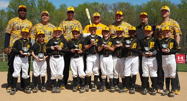 2015.  Rod Sterry's 8U Eagles finished in 2nd place at a Ripken tournament.