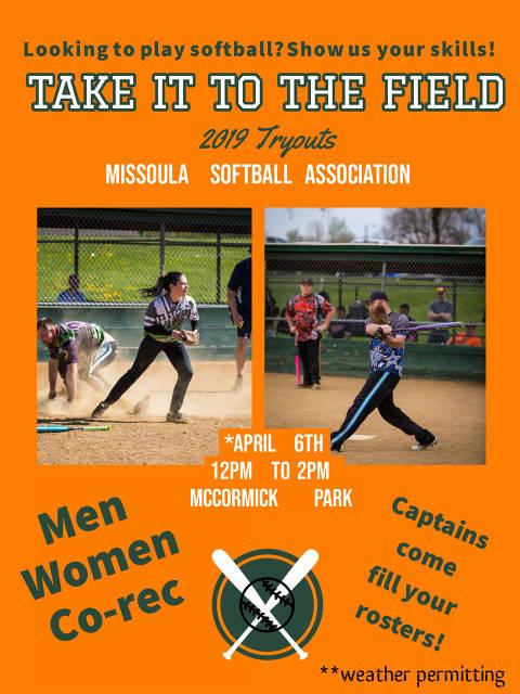 Missoula Softball Association - (Missoula, MT) - powered by