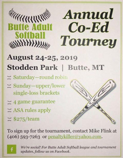 Helena Softball Association 447 6409 Helena MT