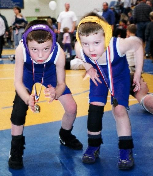 Eric and Michael at another tournament