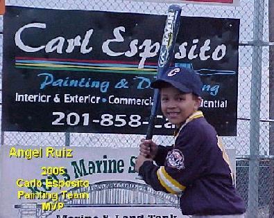 Carlo Esposito 2005 Team MVP - Angel Ruiz