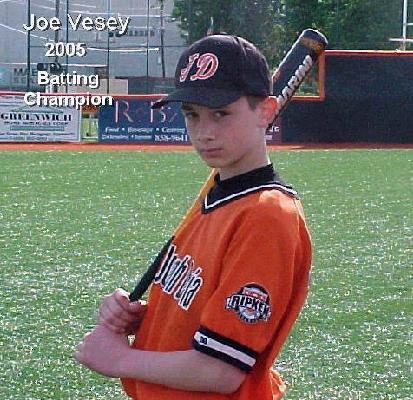 2005 Batting Champion - Joe Vesey