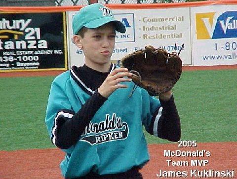 McDonalds 2005 Team MVP - James Kuklinski