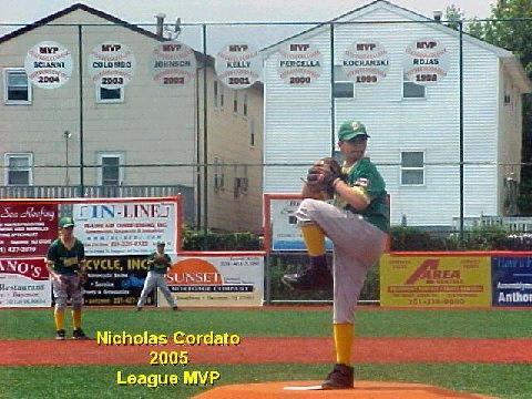 <b>2005 League MVP</b> - Nick Cordato