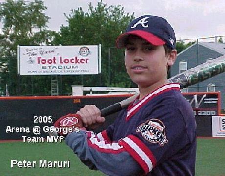 Arena @ George's 2005 Team MVP - Peter Maruri