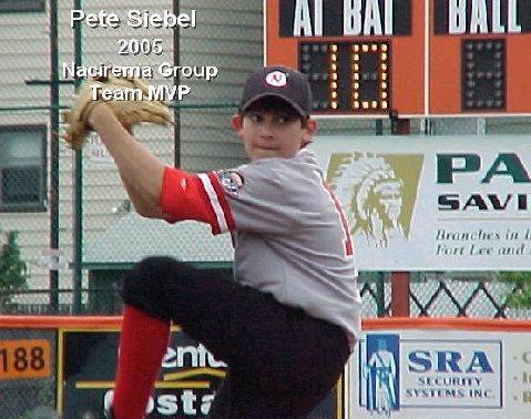 Nacirema Group 2005 Team MVP - Pete Siebel