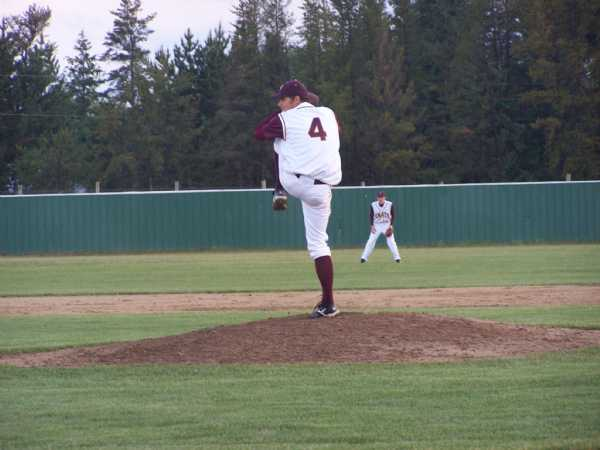 Jacob Brockpahler logging one of his many innings during the 2008 season.