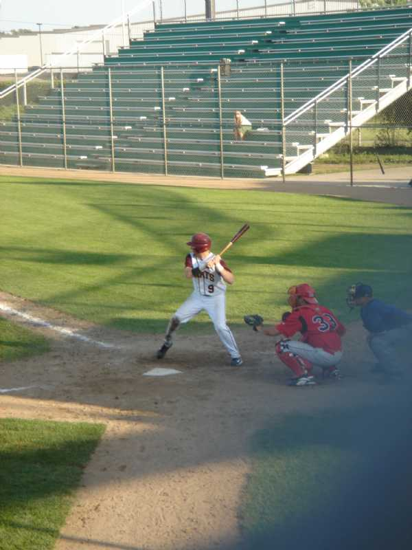 Funk loads up for the pitch during a game in the St. Cloud tourney during the 2007 season.
