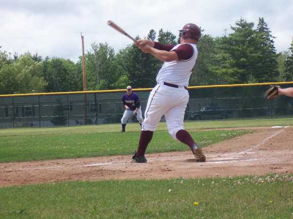 Adam Johnson blasts another homerun against the Stingers.