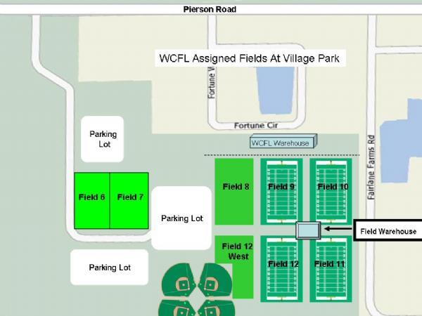 Map Of Wellington Florida.Western Communites Football League Wellington Fl Powered By