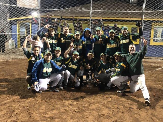 2019 Div 5 Champions - Los Caimanes