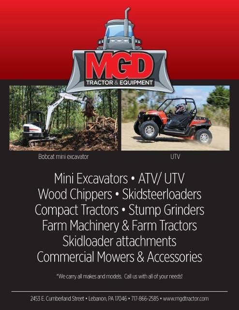 MGD Tractor Equipment