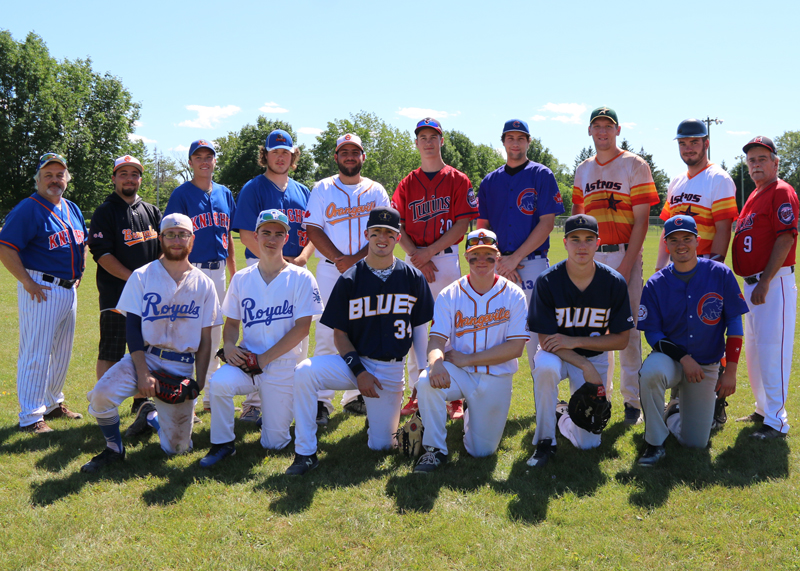 Expos<br />Back row from left: manager Phil Wilkins, coach Anthony Zambito, Kevin Wolfenden, Dylan Dever, Micael Zambito, Colin Kitching, Lucas Day, Tristan Hill, Nathan Lennox, coach Glenn Strickland.<br />