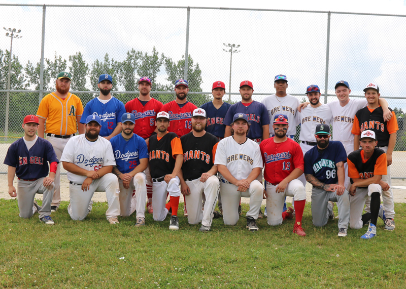 East Division All-Stars<br />  Back row, from left: Marshall Flindall, Eamonn Chiodo, Jake Ploughman, Cody Ploughman, Blake Faulds, Jake Morris, Luis Ortiz, Alex Pagilia, coach Carter Burnside, coach Nick Hodgson.<br /> Front row, from left: Brandon Tippin, manager Ron DiPalma, Marlon Young, Nathan Drury, Josh Hickey, Chris Fafalios, Adrian Gutierrez, Ryan Gardy, Matt Drury.<br /> Missing from photo: Jake Quinlan.