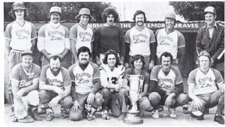 (Photo) Creemore Lions – Strother Cup Winners in 1978