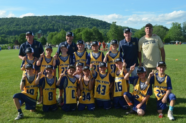 Grade 4 Travel Team - Winners of their division at Lehigh Laxfest 2015!