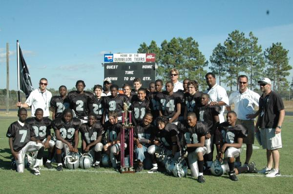 """2006 Timucua Conference Jr. Midget Division Champions - Marion County """"Raiders"""""""