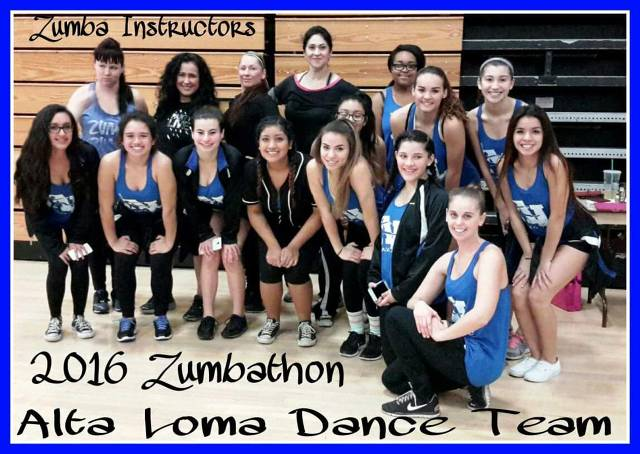 Zumba instructors with some of our dancers