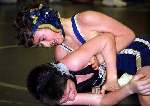 Salemi going for the pin!