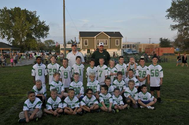 Pee Wee Football Team 2014