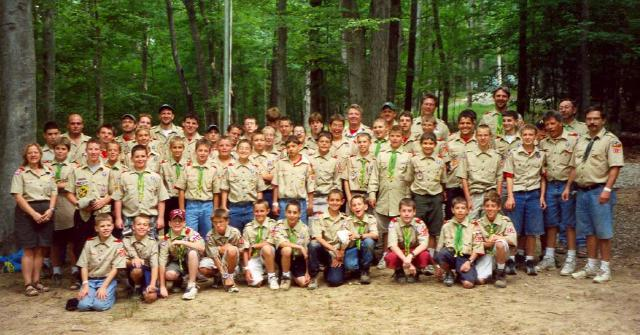Troop 318 at Owasippe 2002